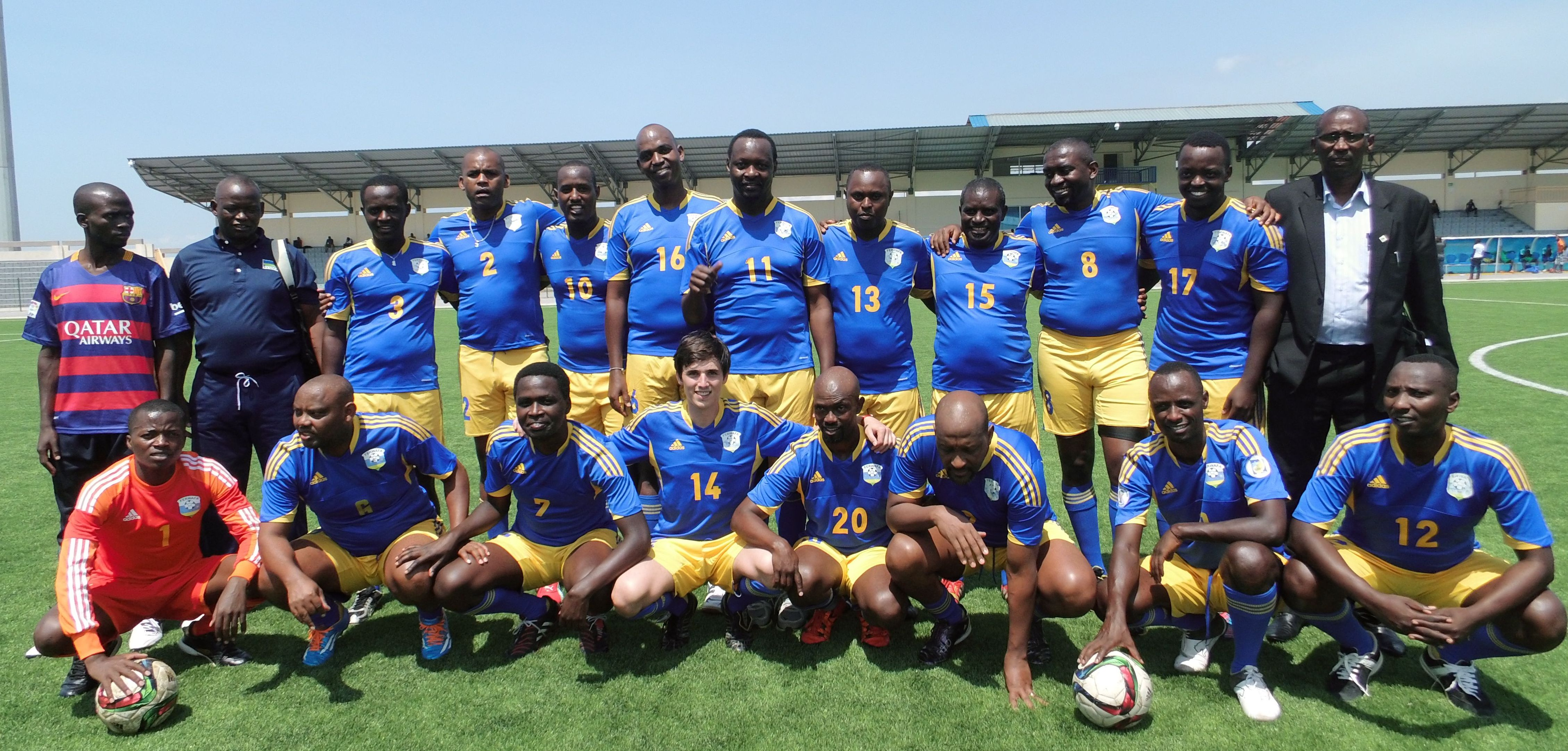 Football rwanda pour site